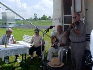 Les musiciens du pique nique